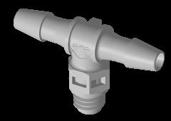 MT4 - Einschraubstutzen 3,2 mm Schlauchanschluss / 10-32 UNF Gewinde