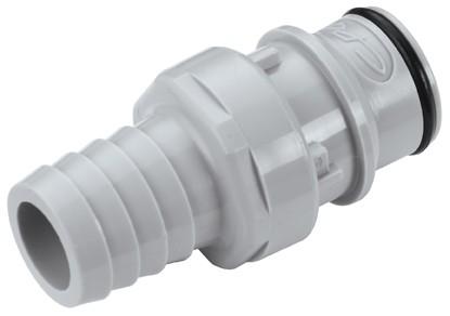 HFC221012 - Stecker 15,9 mm Schlauchanschluss, ohne Absperrventil, EPDM-Dichtung