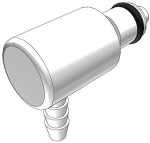 PMCD2302 - Stecker 3,2 mm Schlauchanschluss