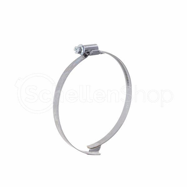 Spiralschlauchschelle | Brückenschelle 9 mm mit Schneckengewinde
