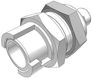 SMFPMD01 - Kupplung 1,6 mm Schlauchanschluss, mit Absperrventil, Buna-N Dichtung