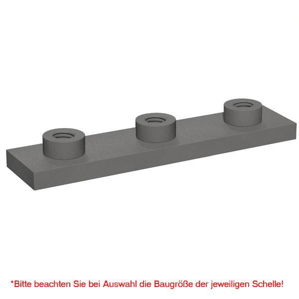 STAUFF Schweißplatte SPAD für Schwere Doppel-Baureihe