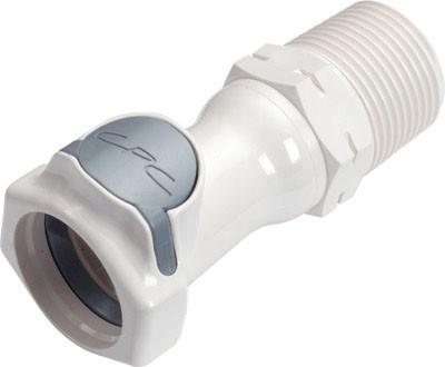 """FFC101235BSPT - Kupplung 3/4"""" BSPT Außengewinde, ohne Absperrventil, Buna-N Dichtung (FDA)"""