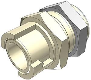 SMFPM0212 - Kupplung 3,2 mm Schlauchanschluss, ohne Absperrventil
