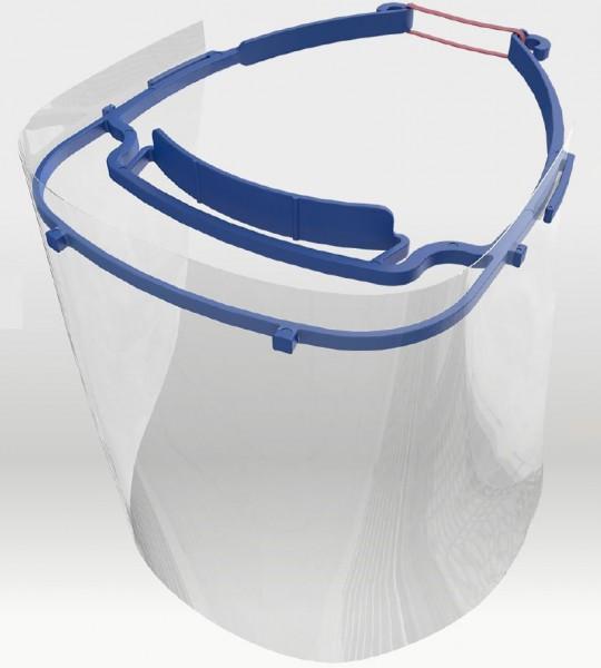 Gesichtsschutz / Augenschutz Visier, besteht aus Büge lund Schirm