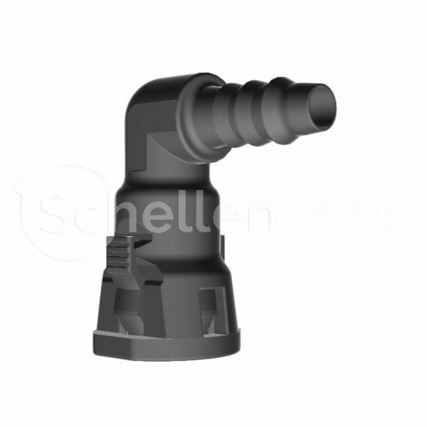 NQ-S 90°-Steckverbindung NW 08, mit 6 mm Schlauchanschluss - 7158521008