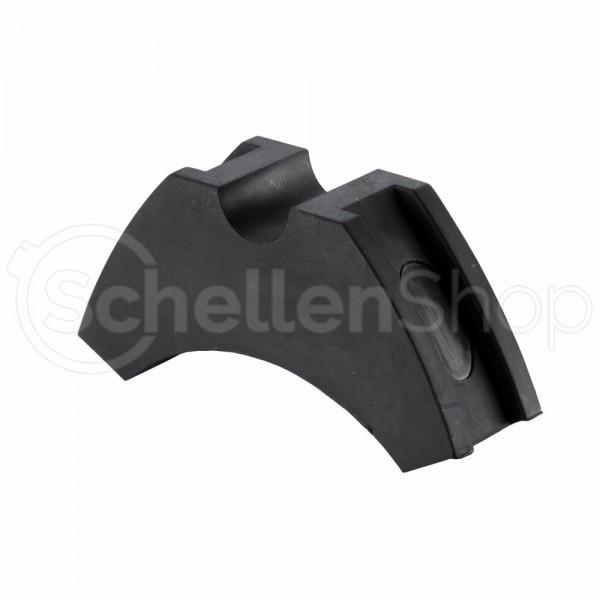 STAUFF Sattelschelle / Zylinderrohschelle Typ ZR-518-BK9005 (73 Shore-A)
