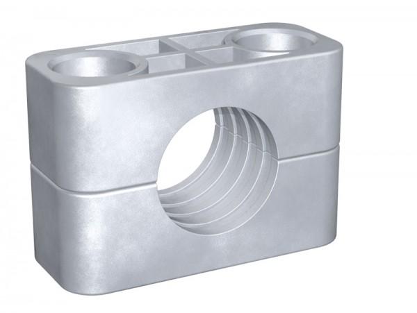 STAUFF Schelle Schwere Baureihe - AL - gerippte Innenfläche, Aluminium