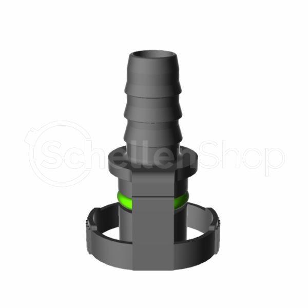 NQ-V2 Steckverbindung NW 10 - 10 - 0°, 10 mm | 7138011010