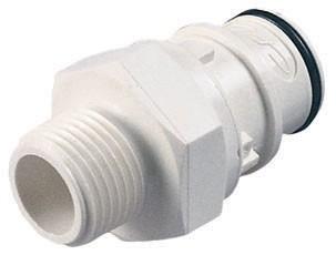 """HFC24835BSPT - Stecker 1/2"""" BSPT Außengewinde, ohne Absperrung, EPDM"""