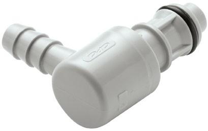 EFC23612 - Winkelstecker 9,5 mm Schlauchanschluss, ohne Absperrventil, EPDM-Dichtung