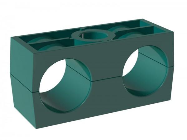 STAUFF Schelle Doppel-Baureihe - PPH - glatte Innenfläche
