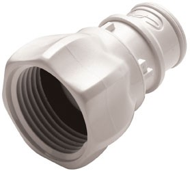 """FFC261235BSPP - Stecker 3/4"""" BSPP Innengewinde, ohne Absperrventil, Buna-N Dichtung (FDA)"""
