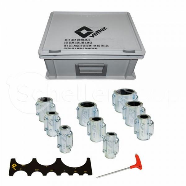 Rohr Dichtmanschetten Set | Leck Reparatur für Hochdruckleitungen