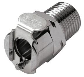 """MC1004BSPT - Kupplung 1/4"""" BSPT Außengewinde, ohne Absperrventil"""