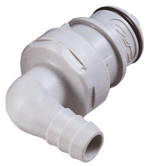 HFCD23612 - Stecker 9,5 mm Schlauchanschluss, mit Absperrventil, EPDM-Dichtung