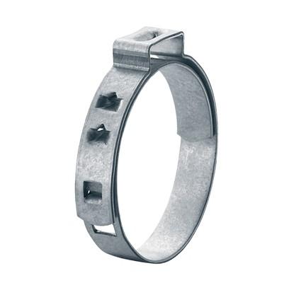Lochbandklemme für Achsmanschette, Bandbreite 7 mm, Stahl verzinkt