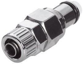 LCD20006 - Stecker 9,5 mm AD / 6,4 mm ID Klemmringverschraubung