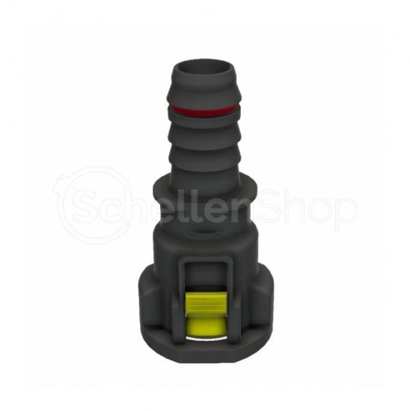 """NQ-S gerade Steckverbindung NW 5/8"""" mit 13 mm Schlauchanschluss - 7158503016"""