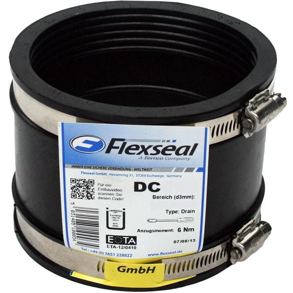 Drainagekupplung Typ 1 | Manschette DIN EN 295-4 | FLEXSEAL