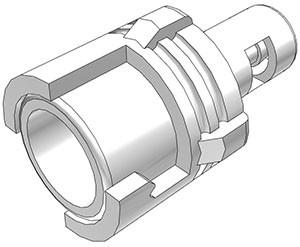 SMF01 - Kupplung 1,6 mm Schlauchanschluss, ohne Absperrventil