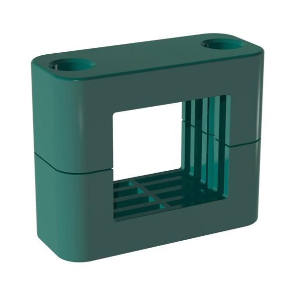 STAUFF Vierkant-Schelle | Quadrat Kunststoffschelle | DIN 3015