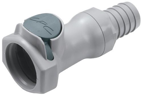 HFCD171012 - Kupplung 15,9 mm Schlauchanschluss, mit Absperrventil, EPDM-Dichtung