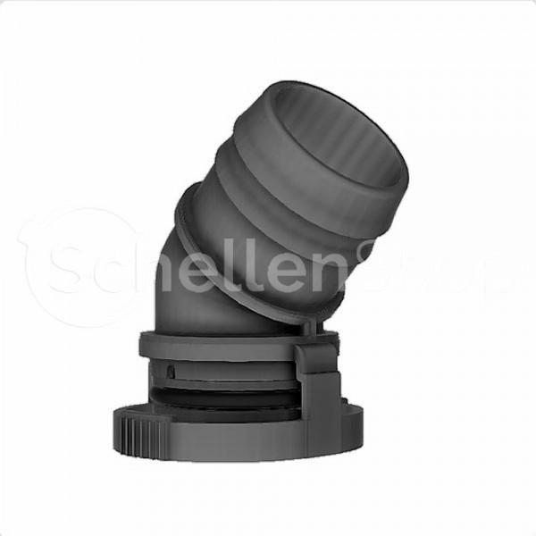NQ-V2 Steckverbindung NW 27 - 45°, mit 29 mm Schlauchanschluss - 7138148027