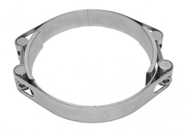 GBS Power-Clamps® Typ 25-1-2, zweiteilig, Bandbreite 25 mm, Band doppelt gezogen