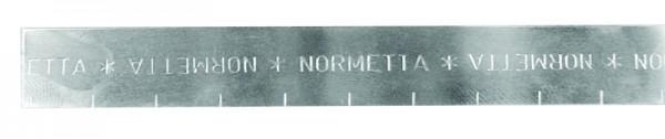 NORMETTA® glatte Bandrolle Bandbreite 19 mm, V2A (30 m-Rolle)