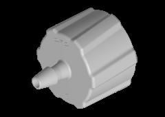 "LM21 - 1,6 mm Schlauchanschluss (1/16""), männlicher Luer-Anschluss, Polypropylen"