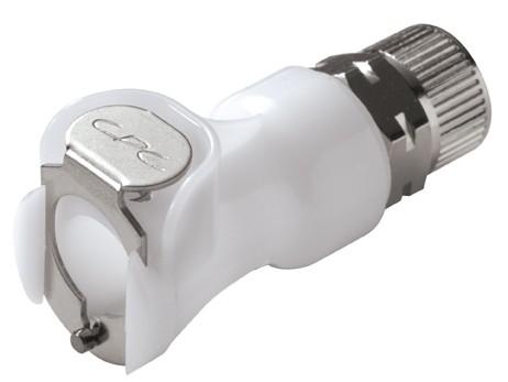 PLC130M8 - Kupplung 8,0 mm AD / 6,0 mm ID Klemmringverschraubung, ohne Absperrung, Buna-N Dichtung