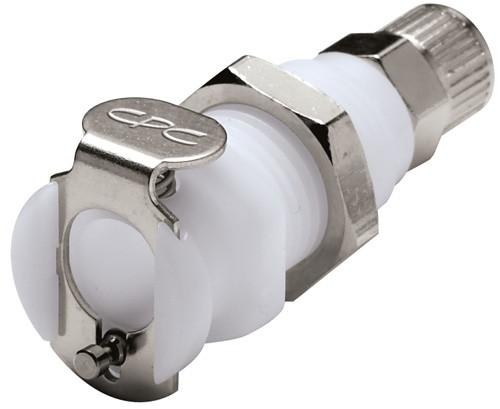 PMC12025 - Kupplung 4,0 mm AD / 2,5 mm ID Klemmringverschraubung, ohne Absperrventil