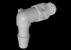 ME4 - Einschraubstutzen 3,2 mm Schlauchanschluss / 10-32 Gewinde
