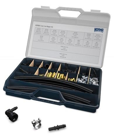 NORMA® Fuel Line Repair Kit - Reparatur-Set für Kraftstoffleitungen
