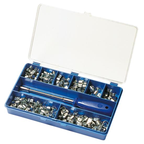 ABA Sortiment 120 Mini, Bandbreite 9 mm, W1 (Stahl vezinkt)