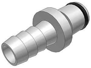 LC22005   Stecker 7,9 mm Schlauchanschluss, ohne Absperrventil