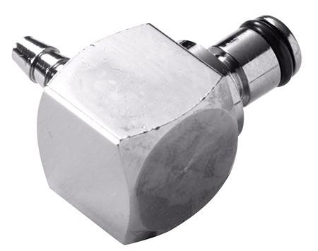 MC2302 - Winkelstecker 3,2 mm Schlauchanschluss, ohne Absperrventil, Buna-N Dichtung