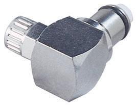 LCD21004 - Stecker 6,4 mm AD / 4,3 mm ID Klemmringverschraubung