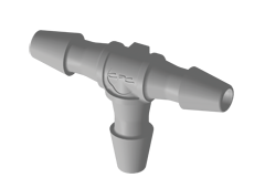 HT2 - T-Schlauchverbinder 1,6 mm Schlauchanschluss