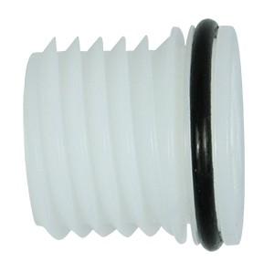 DQPURSP - Blindstopfen aus Polyethylen, EPDM-Dichtung