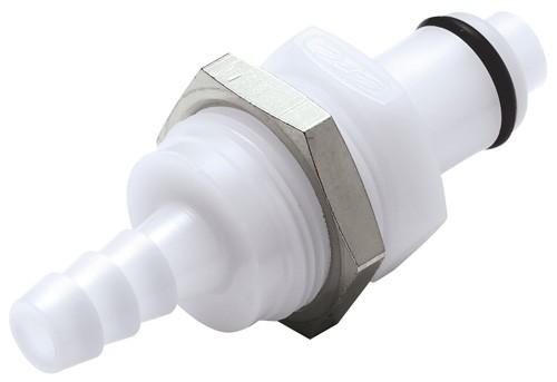 PLCD42004 - Stecker 6,4 mm Schlauchanschluss