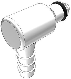 PMCD2304 - Stecker 6,4 mm Schlauchanschluss