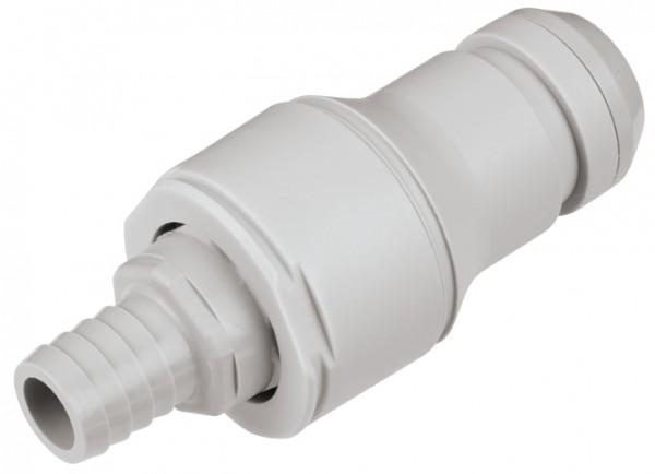 NSHD22010   Steckverbinder 15,9 mm Schlauch, Absperrventil