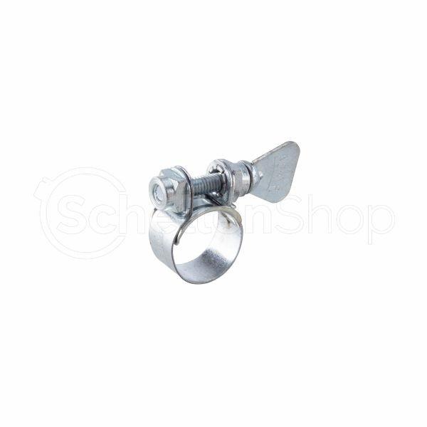Spannbacken-Schelle mit Flügelschraube | Bandbreite 9 mm | verzinkt